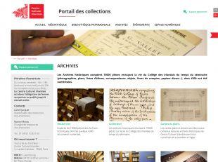 Accueil des Archives du Centre Culturel Irlandais