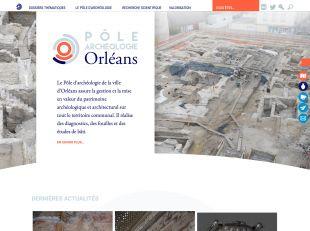 Accueil du P�le d'arch�ologie d'Orl�ans & son AgglO