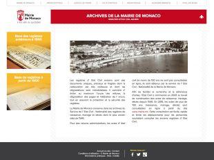 Archives de Monaco