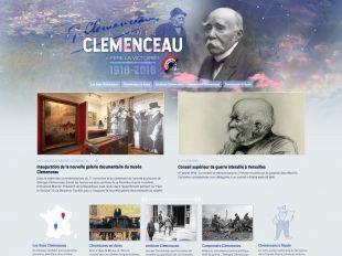 Accueil du site Clemenceau 2018