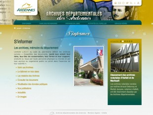 Page type des AD08