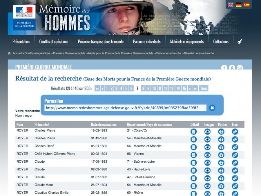 Site des hommes recherche