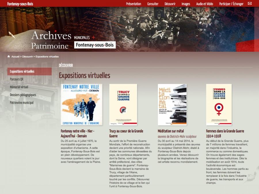 Archives municipales de FontenaysousBois  Arkothque ~ Mission Locale Fontenay Sous Bois