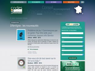 Difenligne, la documentation du CoDES 04