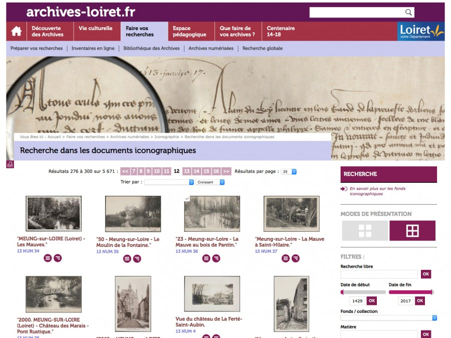 archives 45 registres paroissiaux