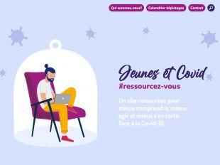Accueil du site Jeunes et Covid
