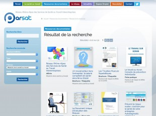 Ressources documentaires de la PARSAT