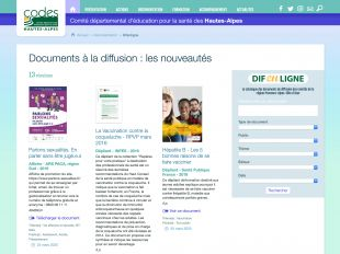 Fonds documentaire (Difenligne) du CoDES 05